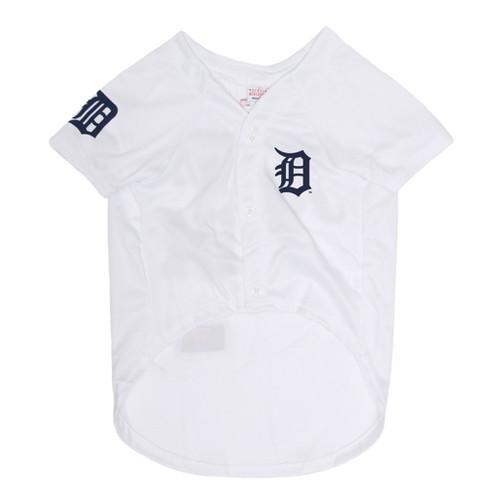 best cheap f9961 57637 Detroit Tigers Pets First Pet Baseball Jersey - White XXL