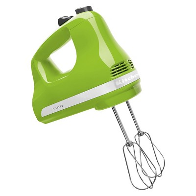 KitchenAid Ultra Power 5-Speed Hand Mixer KHM512 Green Apple