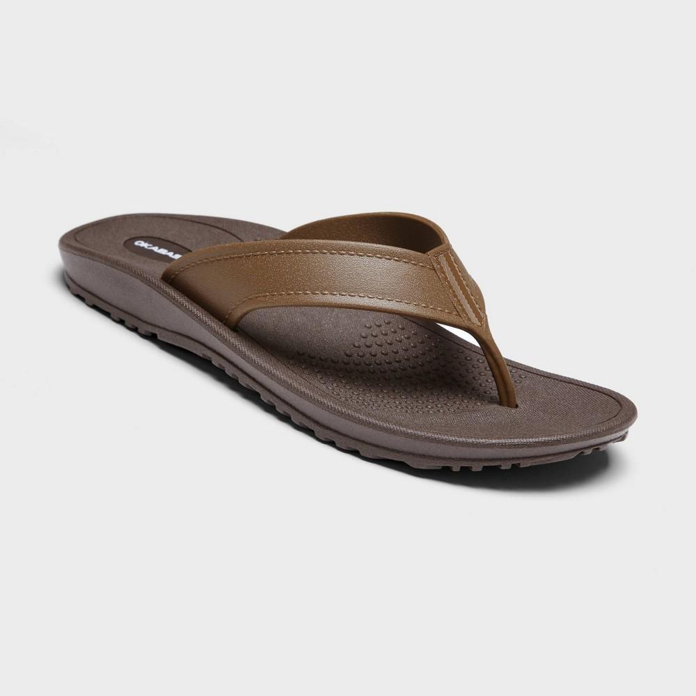 Image of Men's Mariner Sustainable Flip Flop Sandals - Okabashi Brown L (8-8.5), Men's, Size: Large (8-8.5)