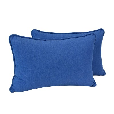 2pk Pacifica Premium Oversized Lumbar Throw Pillows - Astella