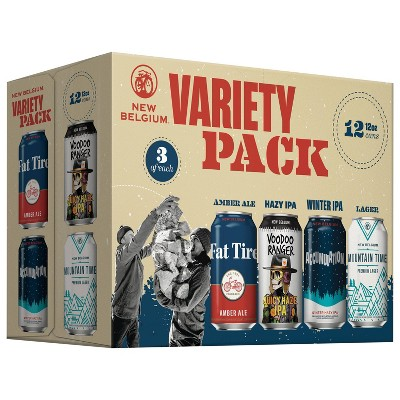 New Belgium Brewing Variety Pack - 12pk/12 fl oz Cans