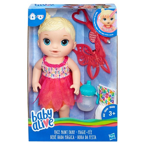 80ad31e123 Baby Alive Face Paint Fairy - Blonde   Target