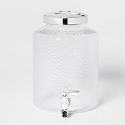 2gal Plastic Textured Beverage Dispenser - Threshold™