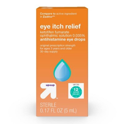 Eye Itch Relief Drops - 0.17 fl oz - up & up™