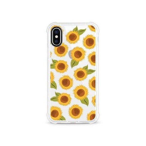 pretty nice 6df81 5ff93 OTM Essentials Apple iPhone XS Max Rugged Edge Clear Case - Sunflowers