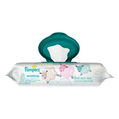 Pampers Baby Wipes Sensitive - 56 ct