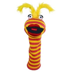 The Puppet Company Sockettes Knitted Puppet - Lipstick