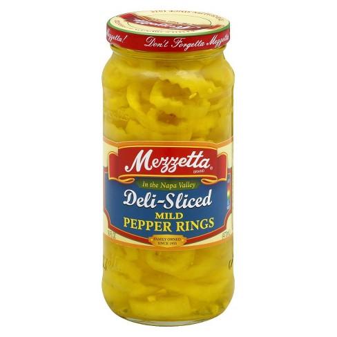 Mezzetta® Mild Banana Pepper Rings - 16oz - image 1 of 1