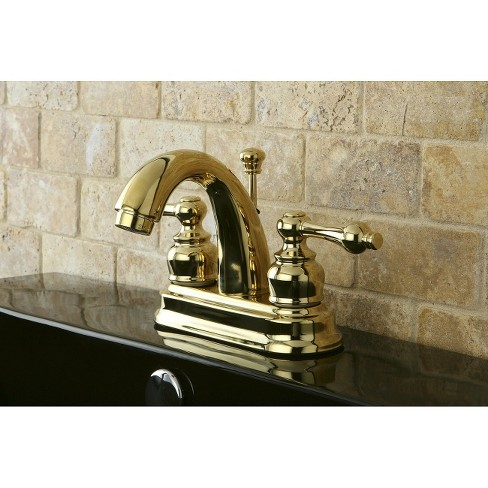 Restoration Clic Bathroom Faucet Polished Br Kingston Target