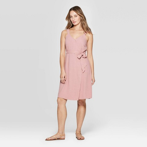 bde80571c4a Women s Sleeveless V-Neck Wrap Dress - Universal Thread™   Target