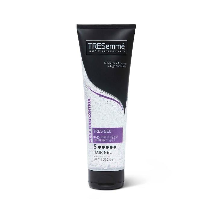 TRESemm TRES Two Hair Sculpting Gel Mega Firm Control Mega Hold - 9 Fl Oz : Target