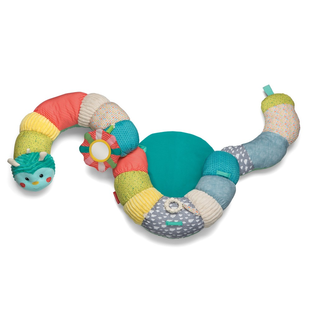 Infantino Go Gaga! Prop-A-Pillar Tummy Time & Seated Support, Multi-Colored