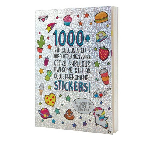 40pg Ridiculously Cute 1000+ Sticker Book - Fashion Angels - image 1 of 4