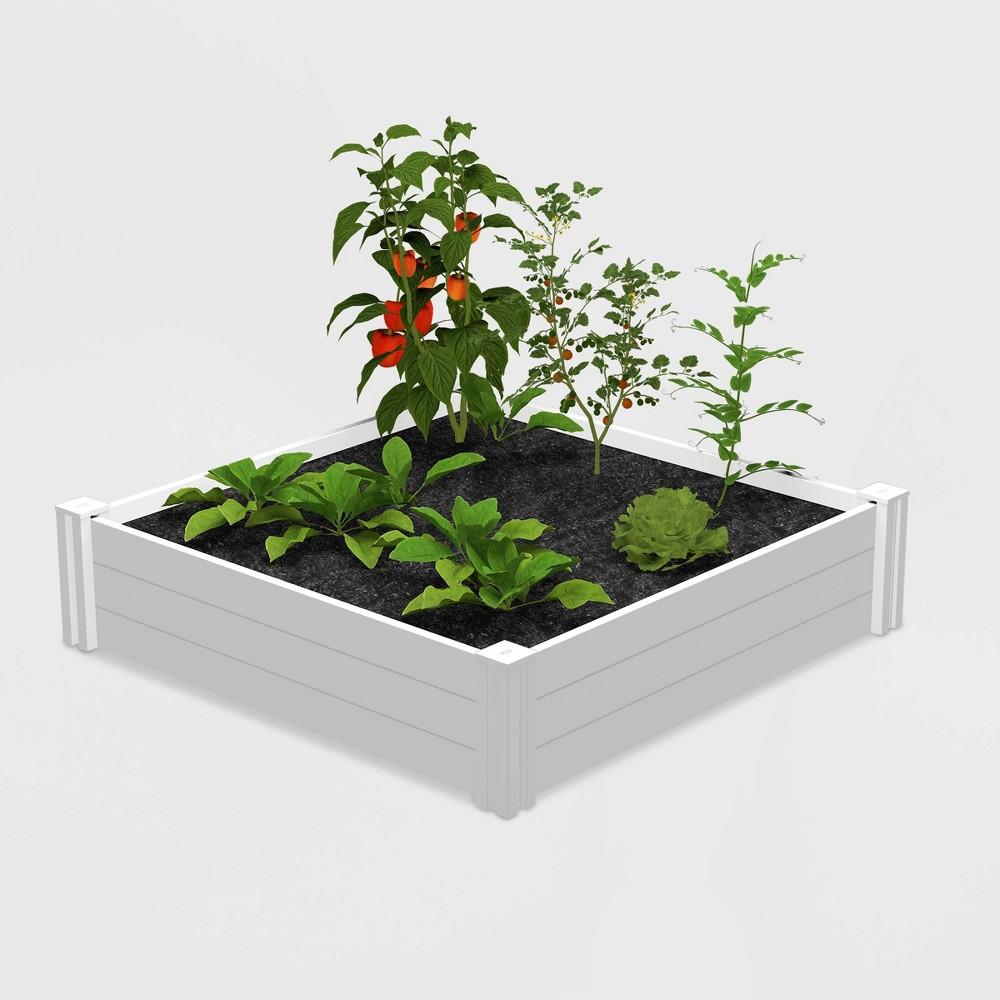 48 Garden Bed White - New England Arbors