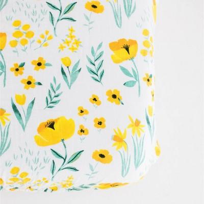 Clementine Kids Buttercup Blossom Crib Sheet