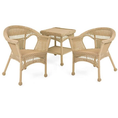 Easy Care Resin Outdoor Wicker Chairs, Resin Wicker Furniture