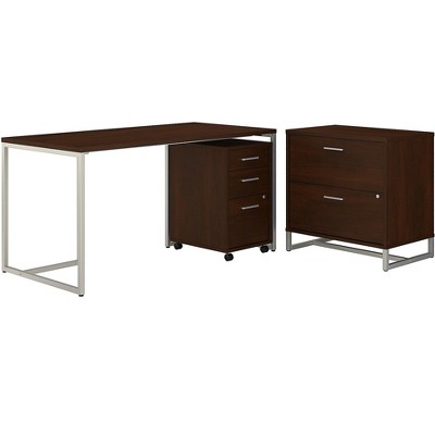 Office by kathy ireland Method Computer Desk w/File Cabinets