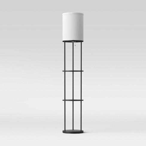 Shelf Lamp Black - Room Essentials™ - image 1 of 2