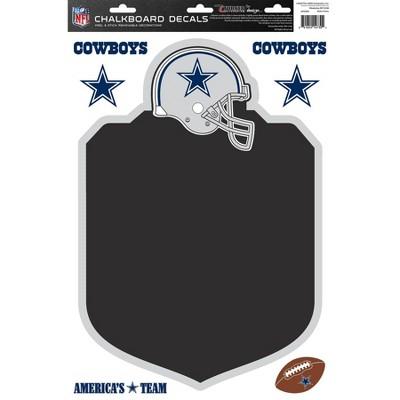 NFL Dallas Cowboys Chalkboard Decals