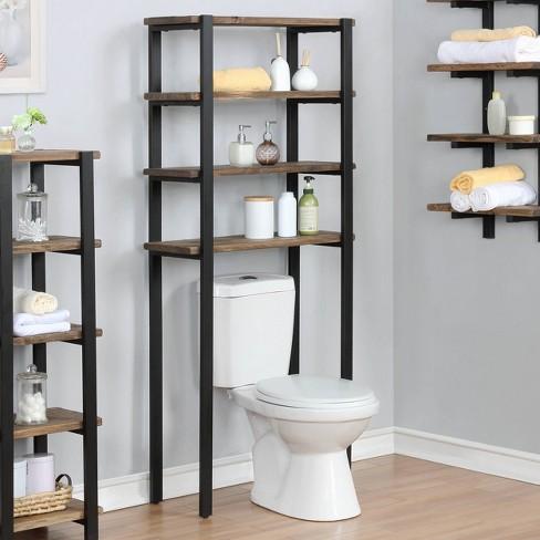 Pomona Over The Toilet 4 Shelf Bath