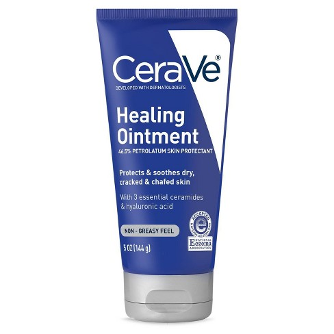 CeraVe Healing Ointment for Dry and Chafed Skin, Non-Greasy Feel - 5oz - image 1 of 4