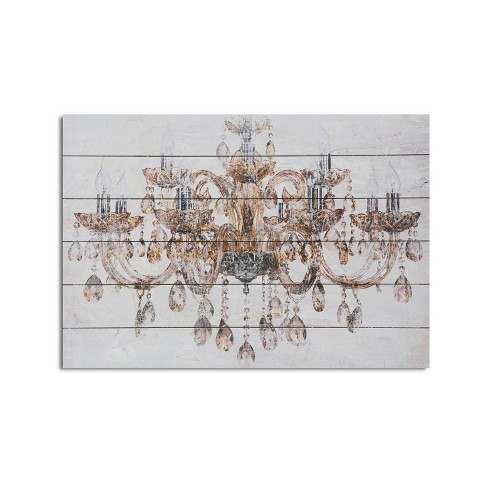 18 X 26 Vintage Chandelier Print On, Chandelier Wall Decal Target
