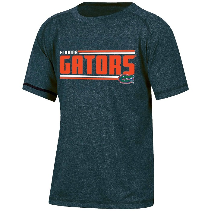 NCAA Florida Gators Boys' Short Sleeve Performance T-Shirt - image 1 of 2