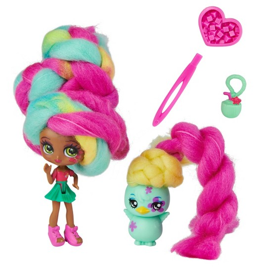 Candylocks Doll + Pet - Tropical Coco-ness & Chi Chi Chick image number null