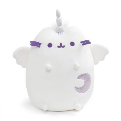 """GUND Super Pusheenicorn 9"""" Pusheen Unicorn Cat Plush Stuffed Animal - White"""