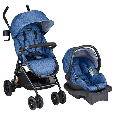 Evenflo® Sibby Travel System Slate Blue