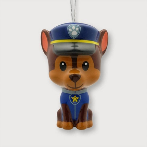 Paw Patrol Chase Christmas Tree Ornament - Decoupage - image 1 of 2