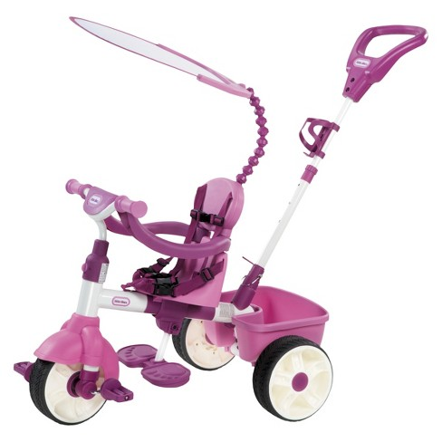 Little Tikes® 4-In-1 Trike Basic Edition - Pink - image 1 of 8