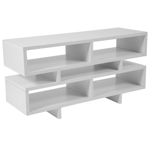 Highgate TV Stand/Console White - Riverstone Furniture - image 1 of 1