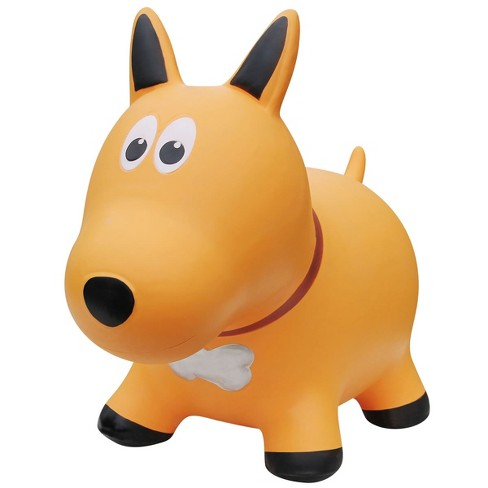 Farm Hoppers Inflatable Bouncing Yellow Dog - image 1 of 4