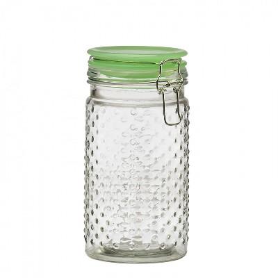 Amici Home Emma Hobnail Jade Glass Canisters, Medium, 30oz