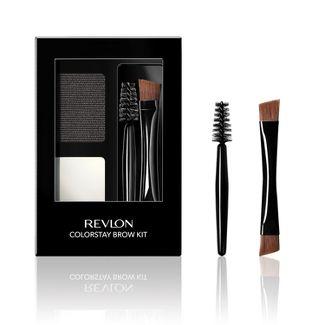 Revlon ColorStay Eyebrow Kit 101 Soft Black - .08 fl oz