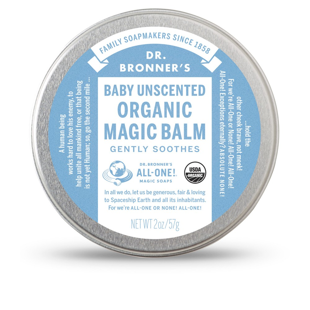 Image of Dr. Bronner's Baby Unscented Magic Balm - 2oz