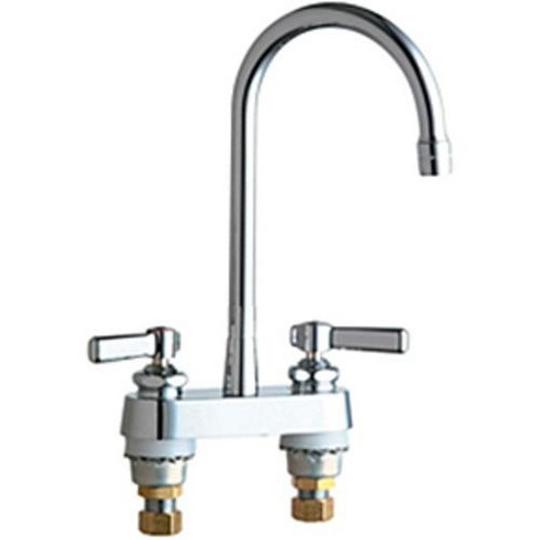 Chicago Faucets 895 Rgd2ab Commercial Grade Kitchen Faucet