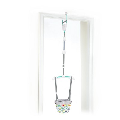 Bright Starts Taggies Door Jumper - Gray