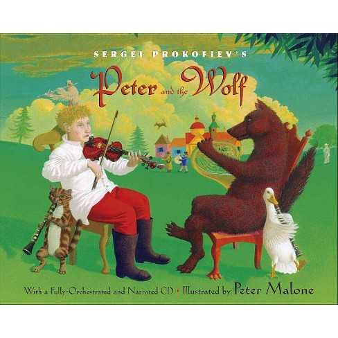 Sergei Prokofiev's Peter and the Wolf - (Mixed Media Product) - image 1 of 1