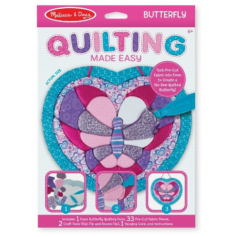 Melissa & Doug® Quilting Made Easy - Butterfly - image 1 of 5