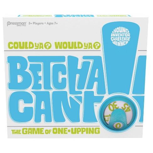 Pressman Betcha Can't Card Game - image 1 of 4