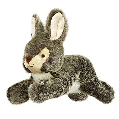 Fluff & Tuff Walter the Wabbit, Large Rabbit Plush Dog Toy with Squeaker
