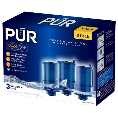 PUR MineralClear® Replacement Faucet Filter, 3 Pack