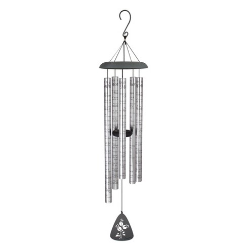 Carson Home Accents 44 Inch Roses for Mother Sonnet Outdoor Metal Wind Chime - image 1 of 1