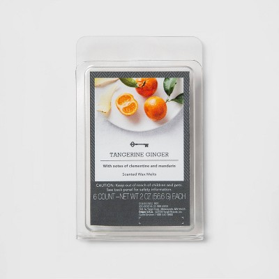 6ct Tangerine Ginger Scented Wax Melts - Threshold™