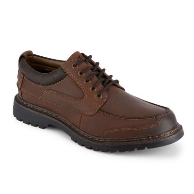 Dockers Mens Overton Leather Rugged Casual Oxford Shoe with NeverWet - Wide Widths Available