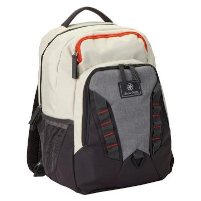 Jeep Adventurers Backpack Diaper Bag - Gray/Cream