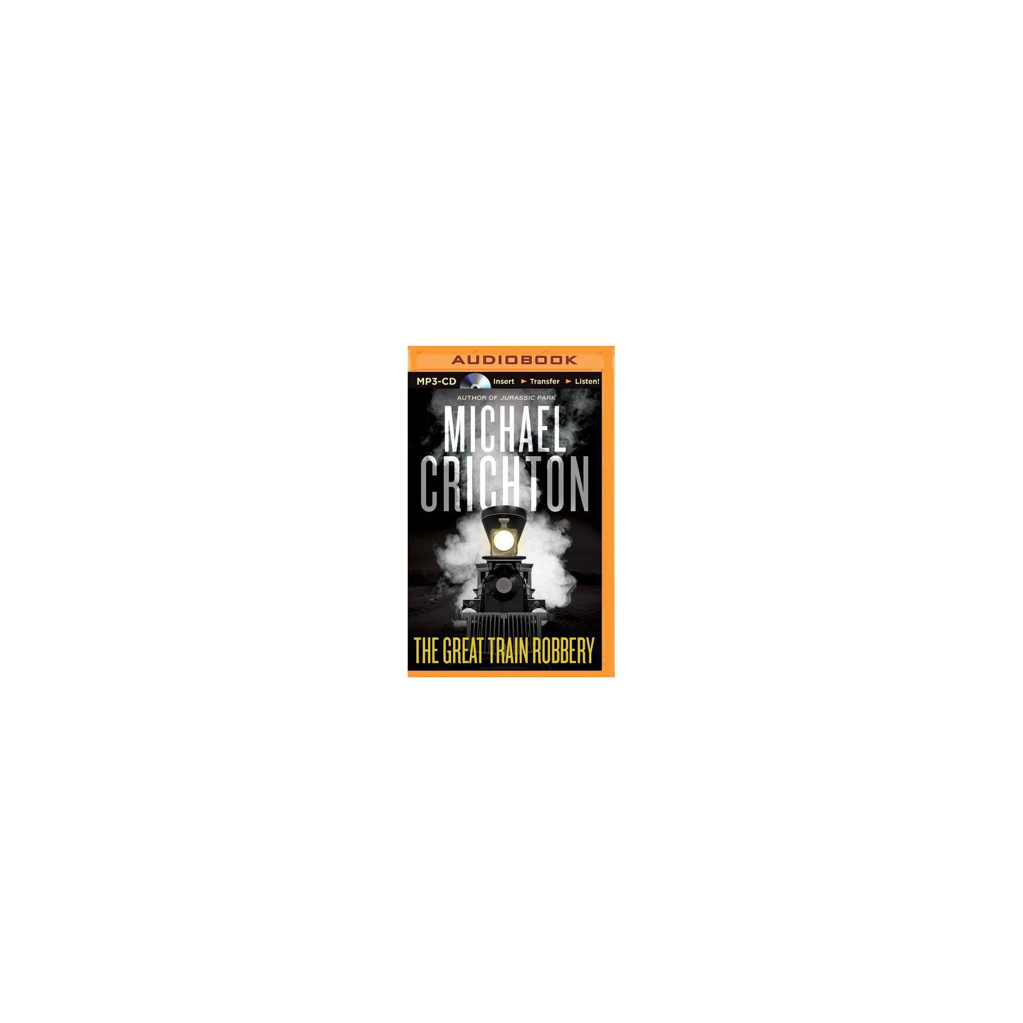 The Great Train Robbery - by Michael Crichton (AudioCD)