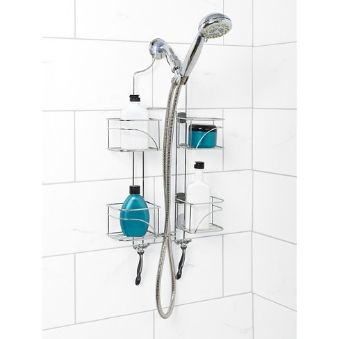Home Expandable Rustresistant Shower Head Caddy Zenna Home Target